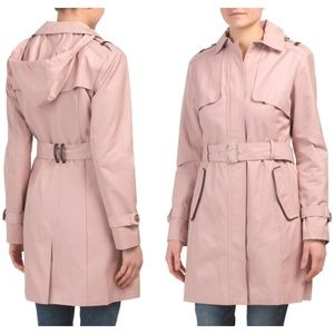 NWT COLE HAAN Trench Coat With Belt